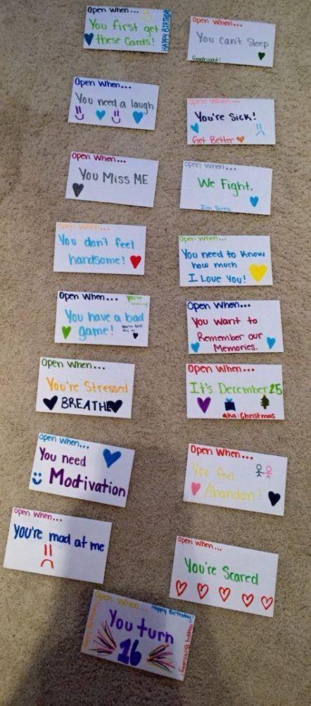 18+ New Ideas Gifts For Boyfriend Diy Long Distance Kids