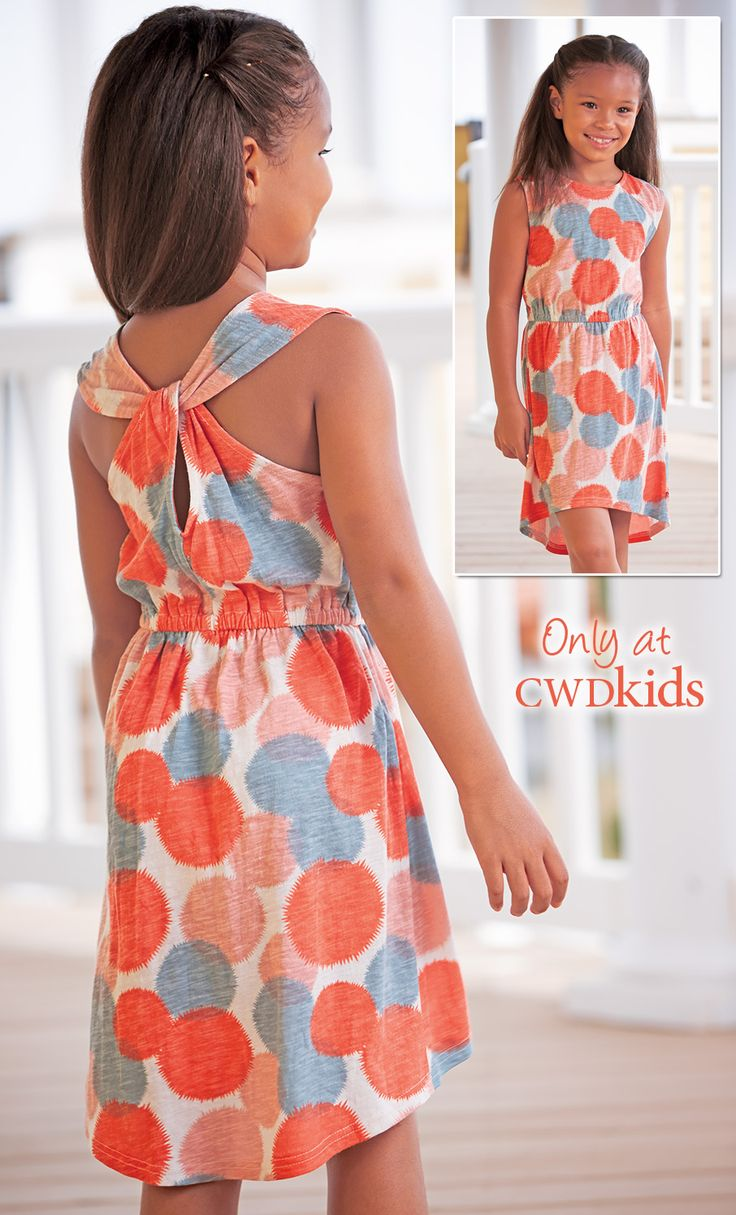 From CWDkids: Dot High-Low Dress