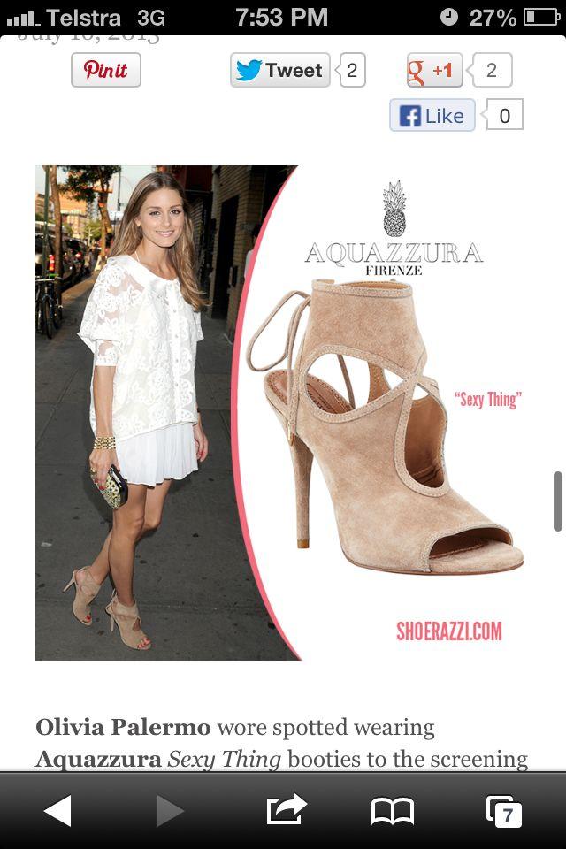 White dress + tan shoes