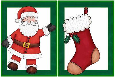 Englisch in der Grundschule: Flashcards Christmas