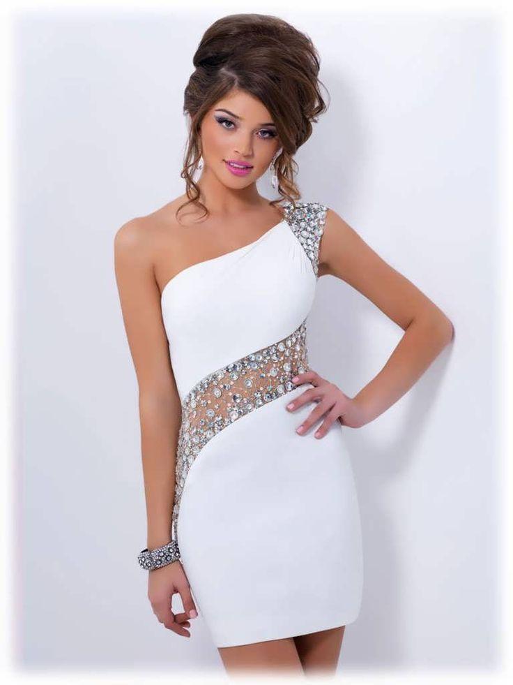 new product 228ec 731d7 Kurze, enge Abendkleider | Kleider & DIY | Dresses, Trendy ...