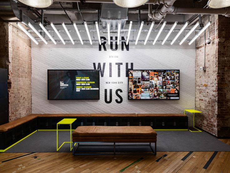 Art Direction + Environment Design - Flatiron Nike Running Store update  Creative Director: Julie Igarashi