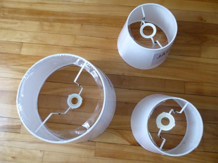 Abat-jour IKEA  Transormations avant/après  Pinterest  Ikea