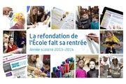 Année scolaire 2013-2014 : la refondation de l'École fait sa rentrée - Ministère de l'Éducation nationale