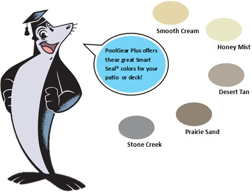 Beautiful PoolGear Plus Offers These Great Smart Seal Deck #Paint Colors! #DIY