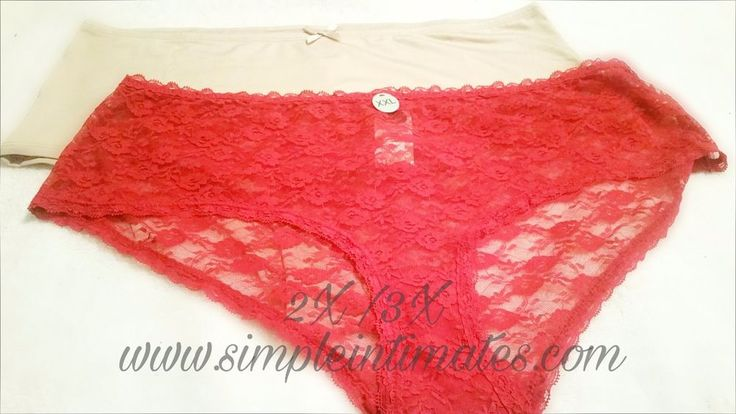 Plus Size Panties 2X / 3X Women's Full Panty Intimates Lace 2 Pack FREE SHIPPING | Clothing, Shoes & Accessories, Women's Clothing, Intimates & Sleep | eBay!