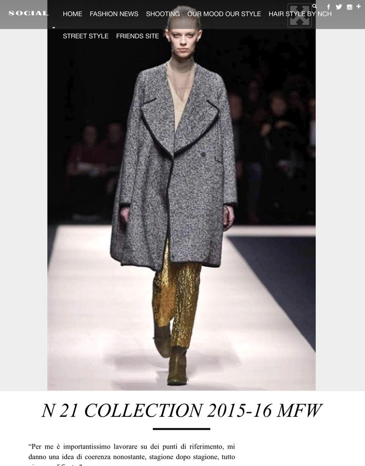 Articolo sulla Sfilata di N.21 alla Milano Fashion Week 2015 #moda #mfw #mavieestma #guidagalatticaperfashionisti #fashion #news #fashionblogger http://www.mavieestma.com/articolo2-120-fashion-news-barra-n-21-collection-2015-16-mfw.html