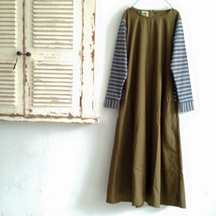 dress tenun jepara mix linen #wishlist