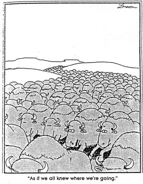 3 Cartoon Characters Always Together : It s always better when we re together… gary larson