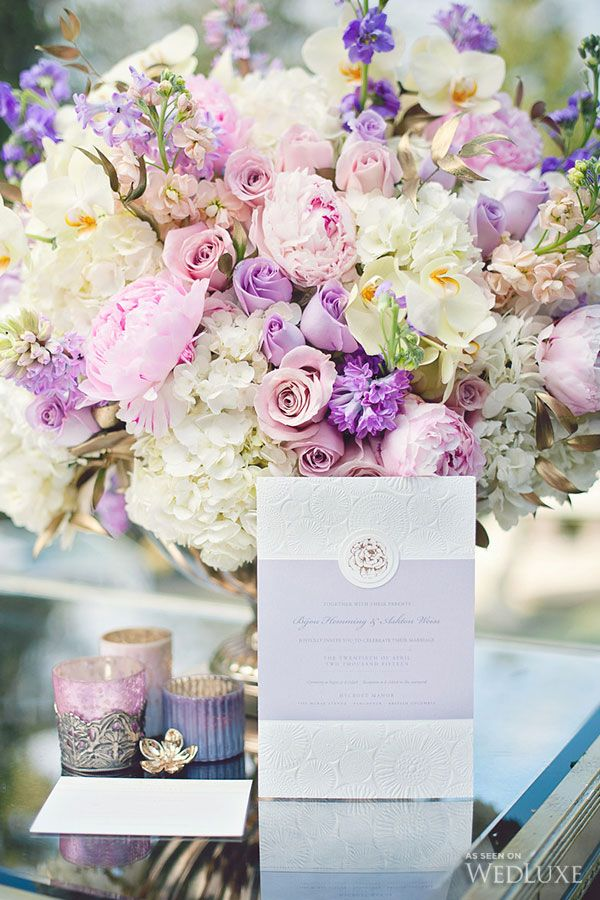 WedLuxe– Lady Lilac   Photography by: Vasia Weddings Follow @WedLuxe for more wedding inspiration!