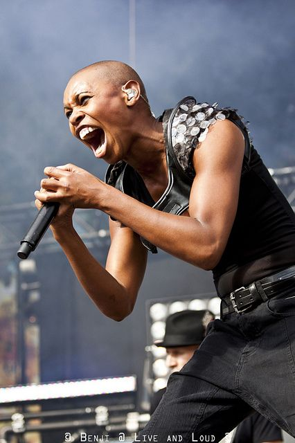 Skin - Skunk Anansie: perfect arms