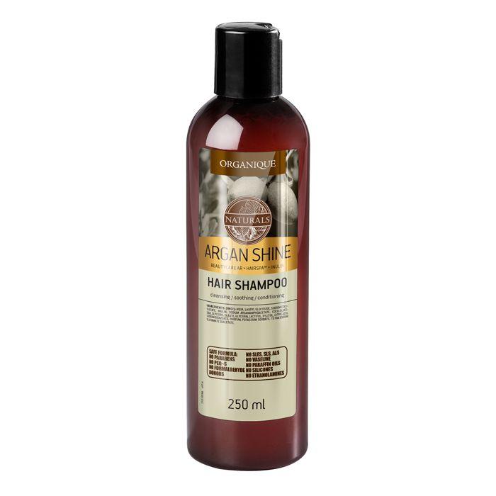 Szampon do włosów suchych z olejem arganowym