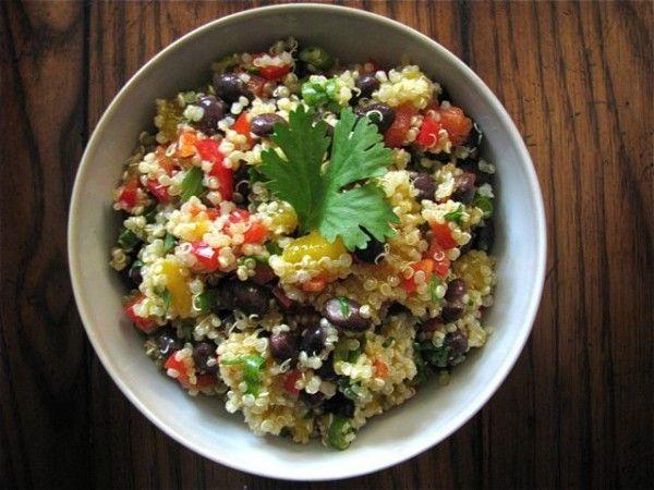 Colorful Cumin Quinoa Salad with Cilantro   171  Healthy Food For LivingQuinoa Salad Cilantro