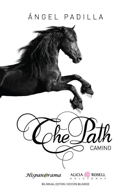 Diseño de la portada d e su libro en inglés The Path #design #type