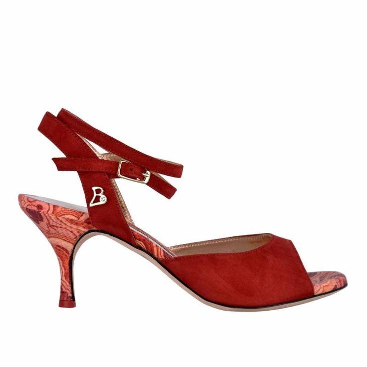 TANGOLERA A1CL ROUGE-T6<br>Chaussure de tango
