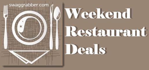 Weekly Restaurant Deals 11/14 - http://www.swaggrabber.com/?p=283146