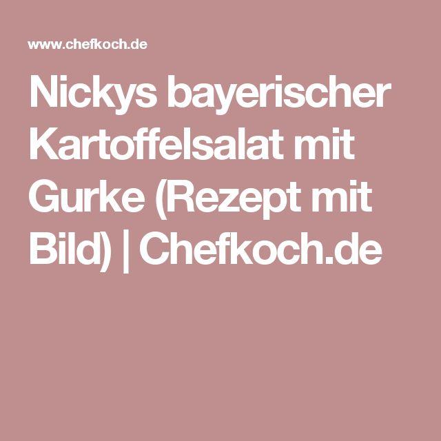Nickys bayerischer Kartoffelsalat mit Gurke (Rezept mit Bild)   Chefkoch.de
