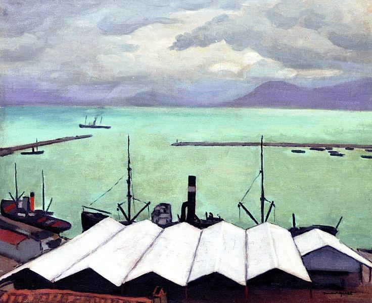 Port de Bougie ( Bejaia) by Albert Marquet