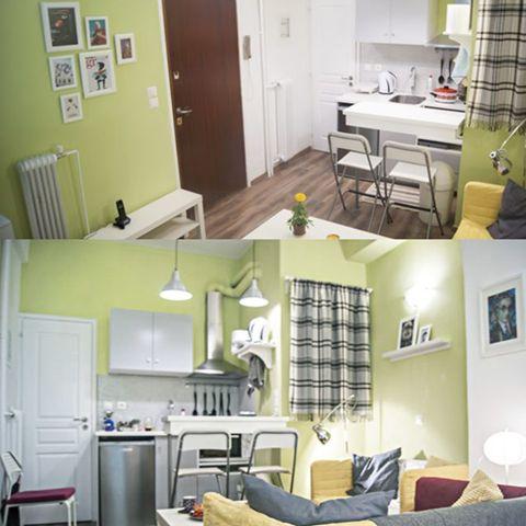 Exarcheia Cozy Studio 1, BetterHome's portofolio apartment.  #diaxeirshakinhton #welcomemore #solutions #advice #airbnb #BetterHomeEU http://better-home.gr/portfolio-diamerismatwn/