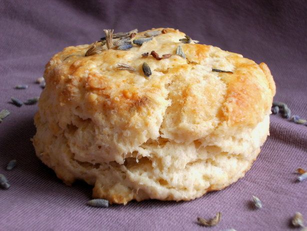 Old Fashioned English Lavender Tea Scones Tried it. Liked it. Used 1 tsp dried lavender and they were very nice. Subtle flavour, not overwhelming at all.