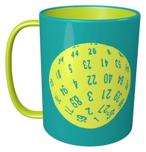 D100 Dice Mug / #Tableware