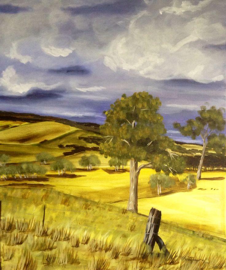Storm coming in ! By Belinda Laurie