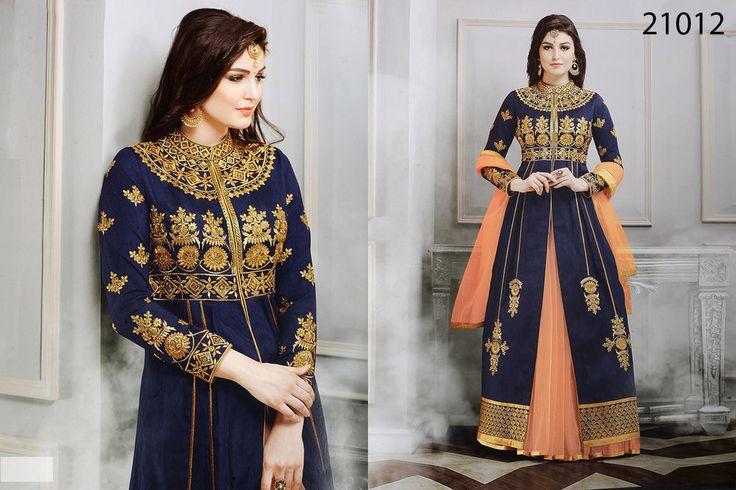 Indian Designer Suit Pakistani Kameez New Ethnic Dress Bollywood Anarkali Salwar #TanishiFashion