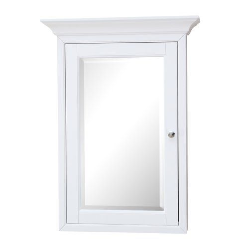 "Found it at Wayfair - 24.25"" x 33"" Surface Mount Beveled Medicine Cabinet"