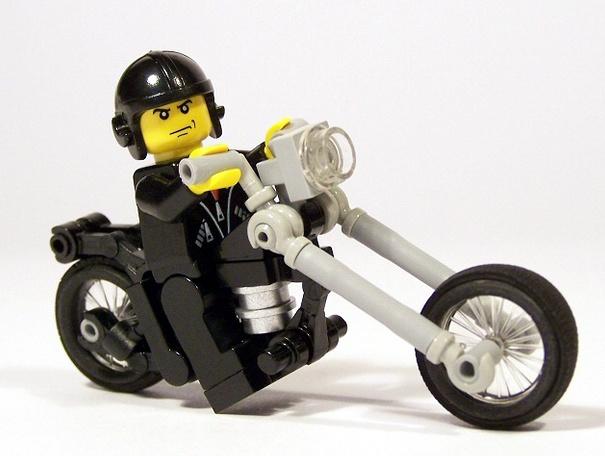 Black Lego  Chopper