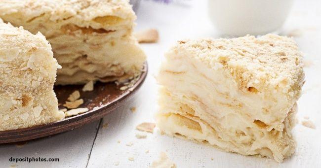 Легкий рецепт идеального торта «Наполеон»