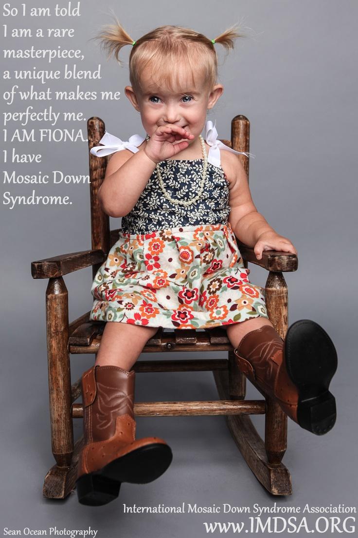 International Mosaic Down Syndrome Association - 2012 Photo Campaign