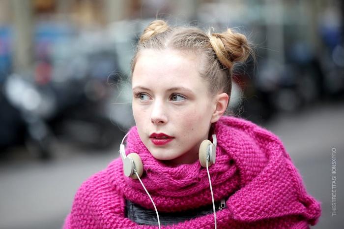 Marie Jensen...Pink Does Not Stop #3...Paris & Milan