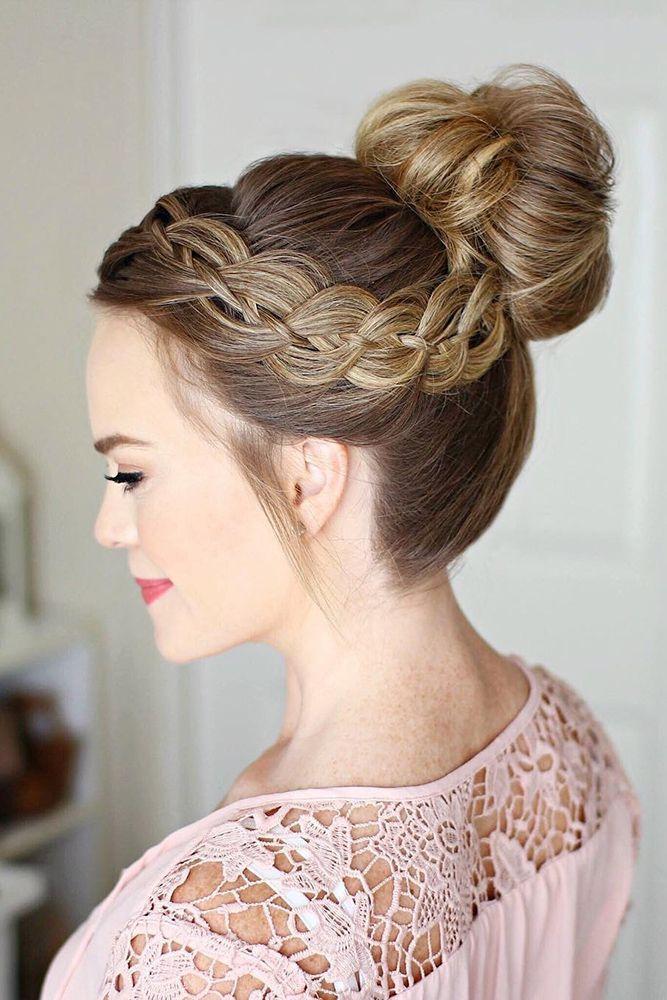 42 Hochzeits-Hochsteckfrisuren für langes Haar