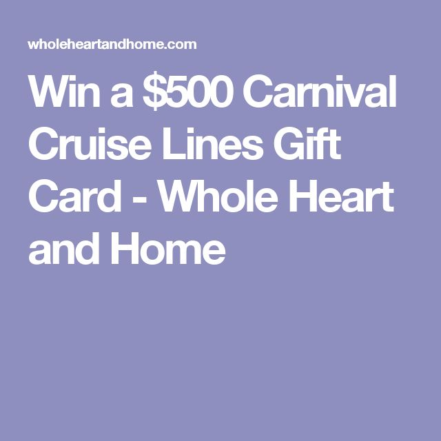 Carnival Cruise Gift Card Publix Photos  Punchaoscom