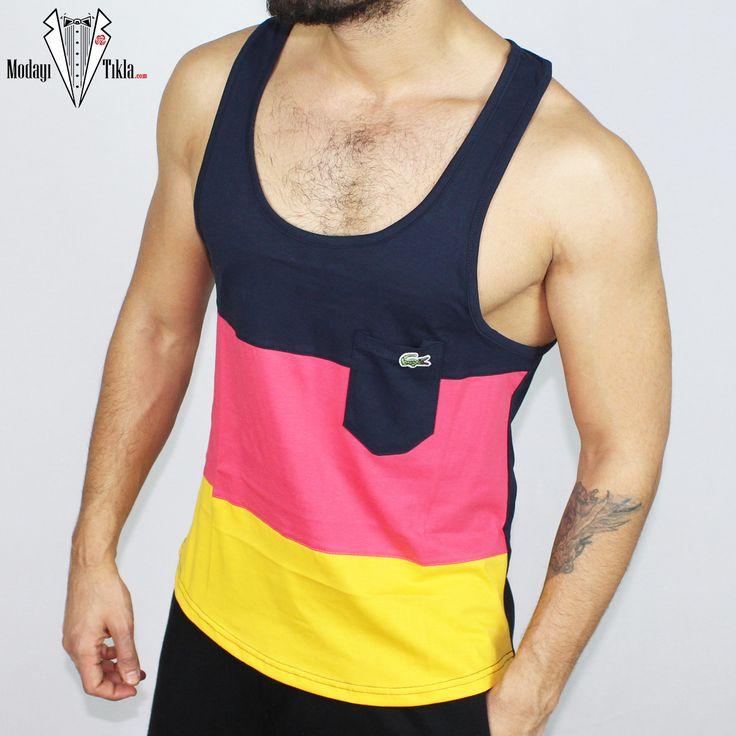 Lacoste erkek kırmızı sarı sporcu atlet ve kolsuz tişörtleri ucuz fiyatlarıyla kapıda ödeme ve taksit ile Modayitikla'dan satın alabilirsiniz. Lacoste Erkek Sporcu Atlet Kırmızı Sarı ,