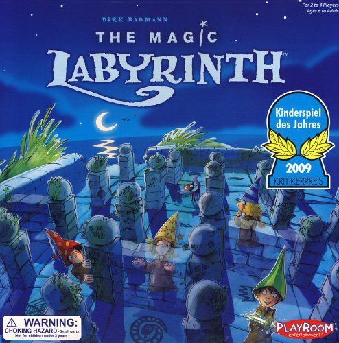 The apprentices to the Master Wizard have accidentally lost some objects in the The Magic Labyrinth. Now, they must try to collect them before the Master notices that they are missing. However, this magical maze has invisible walls that the little wizards keep bumping into, forcing them to start all over again. Sharpen your memory and show your skill as you navigate the maze and win the Master Wizard's favor.