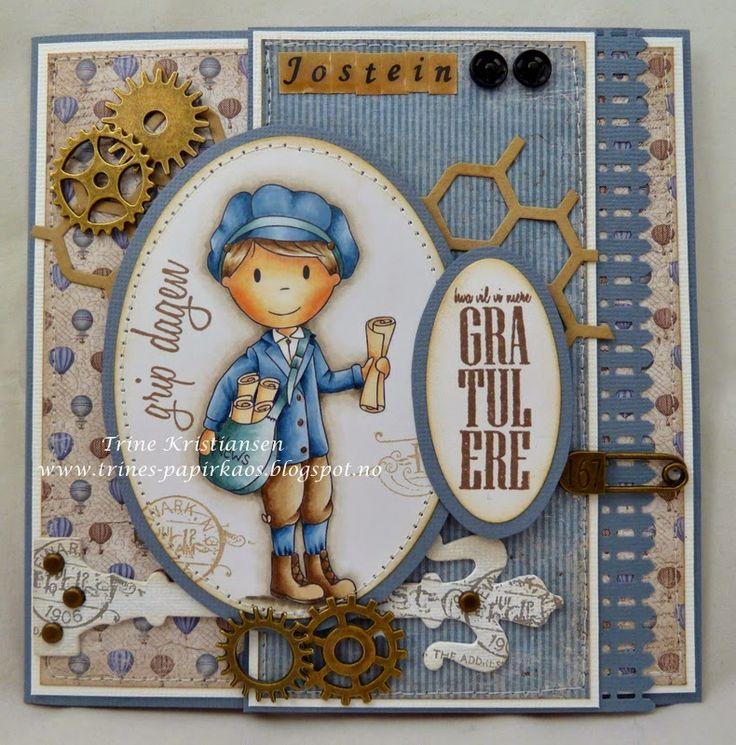 Paper Nest Dolls stamp