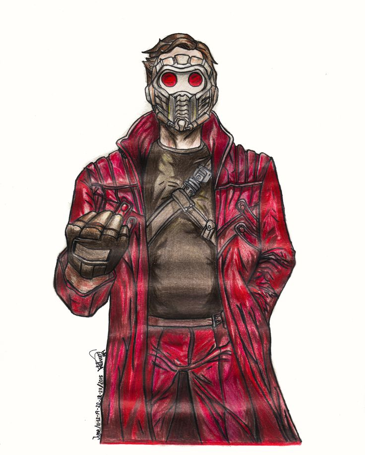 Star Lord.  Made by me.
