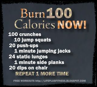Great quick workout.