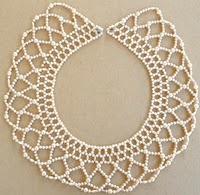 Xhosa scallop beading ~ sooo reminds me of one I saw in Venice!  Remember this, Debbie?