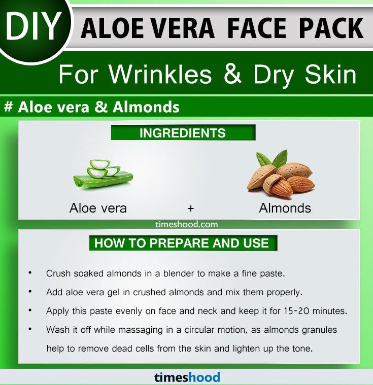 Aloe Vera Face Pack For Wrinkles And Dry Skin Almonds And Aloe Vera Face Mask Diy 15 More Aloe Vera Use Aloe Vera For Face Aloe Vera Face Mask Aloe Vera Uses