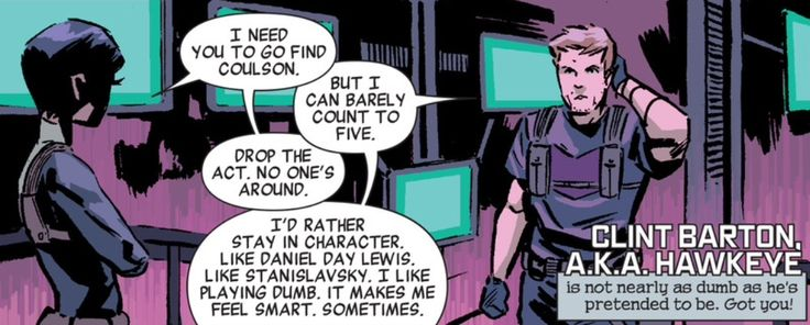 Secret Avengers #6 This is why Hawkeye is still and forever my fave