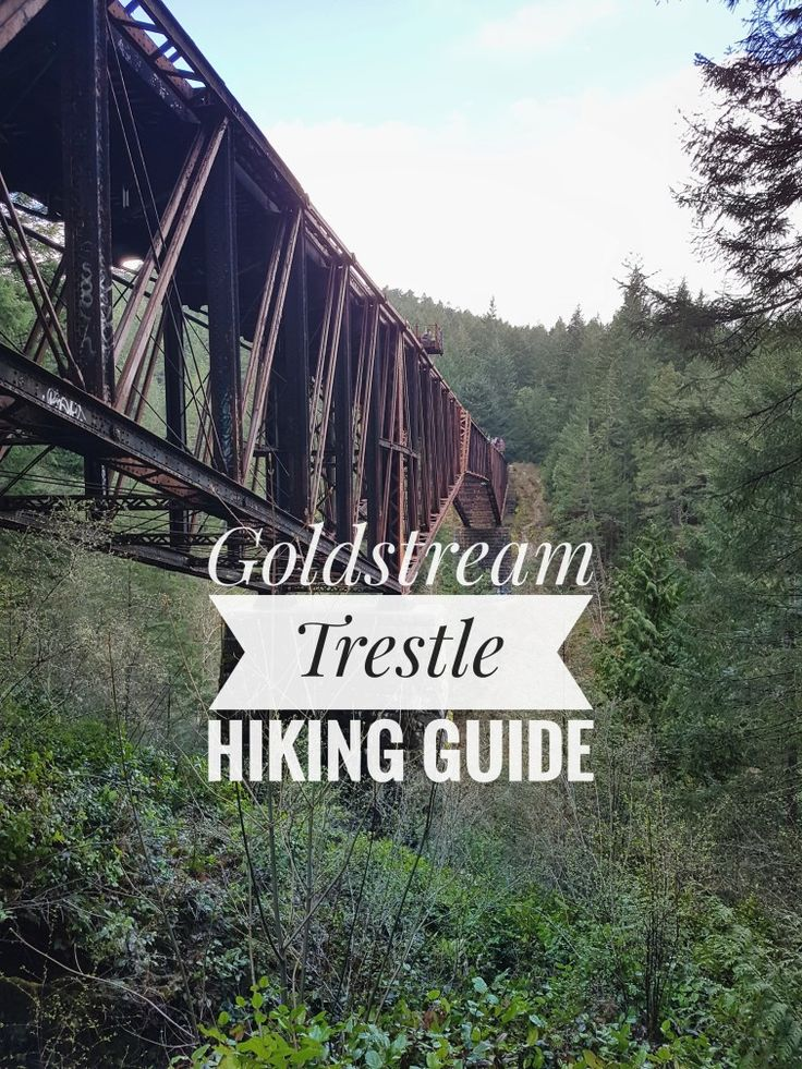 Your guide to the Goldstream Trestle hike on Vancouver Island! Read more below!