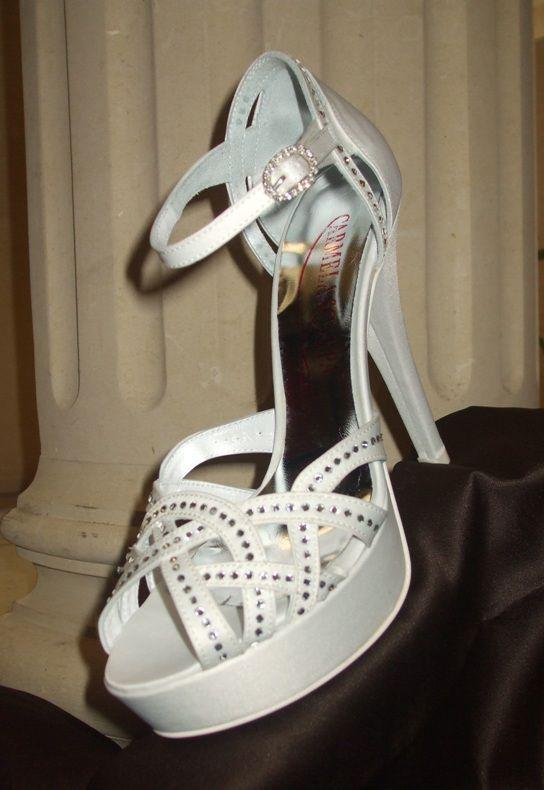 sandalo sposa gioiello con Swarovski