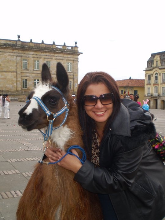 Bethoveen & me in Bogotá, Colombia. I love this city a lot