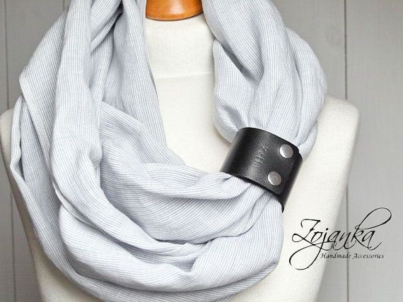 Hey, I found this really awesome Etsy listing at https://www.etsy.com/listing/272782766/linen-infinity-scarf-tube-scarf-with