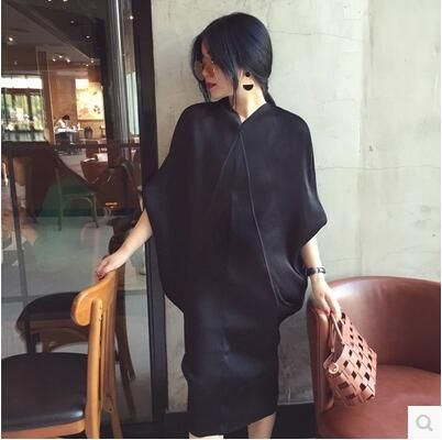 "Cheap women designer dress, Buy Quality women dress directly from China designer dress Suppliers: Women dress Slim ""God Jiang Anni"" Single Giant Design Feeling Fine Plait Overpressure Dresses Black 737"