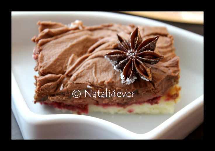 Raspberry and Banana Chocolate cake