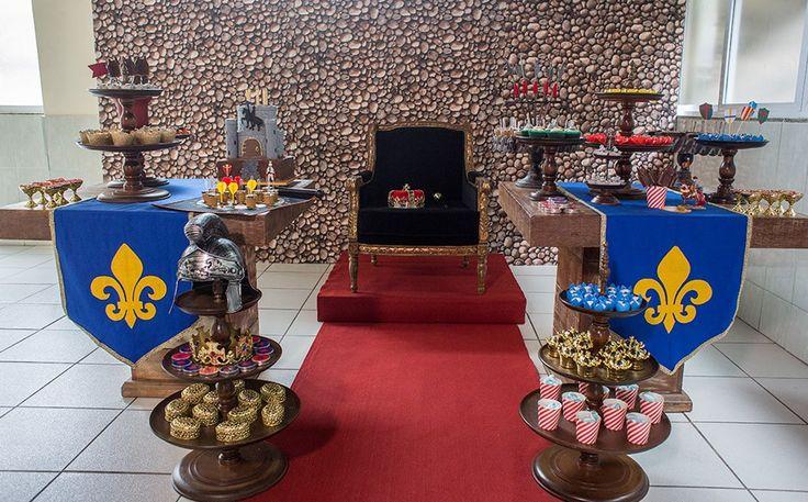 Festa infantil com tema 'Medieval' no 'Fazendo a Festa' - Fazendo a Festa - GNT