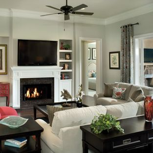 The Wall Paint Is Sherwin Williams 7050 Useful Gray And Trim